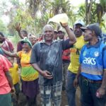 Villagers response to first-time water 2